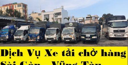 Dịch Vụ Xe tải chở hàng Sài Gòn - Vũng Tàu