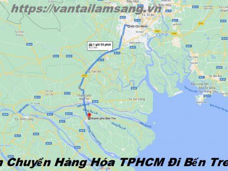 Vận Chuyển Hàng Hóa TPHCM Đi Bến Tre