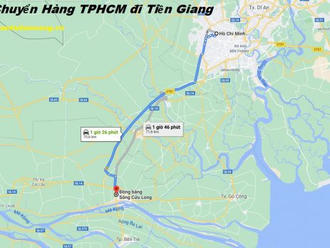 Vận Chuyển Hàng Từ TPHCM đi Tiền Giang