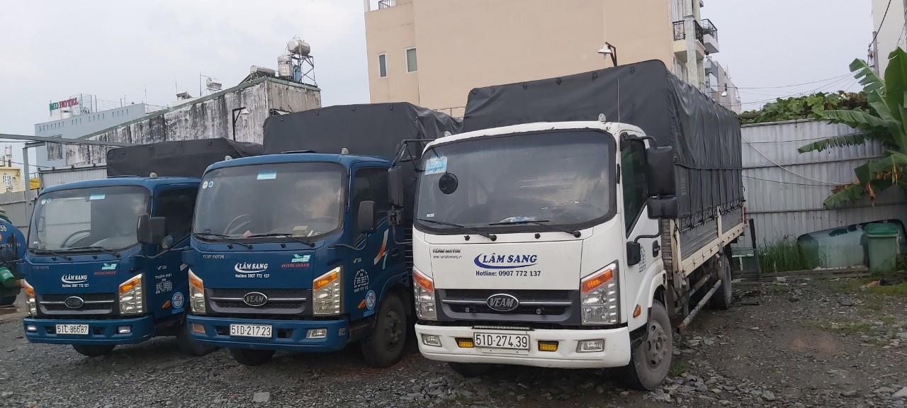 Cho thuê xe tải chở hàng 6m vào thành phố ban ngày