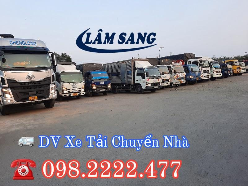 Thuê xe tải nhỏ chuyển nhà đã có Lâm Sang