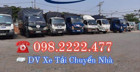 Xe tải dọn nhà trọn gói giá rẻ và uy tín – Chuyển dọn nhà 247