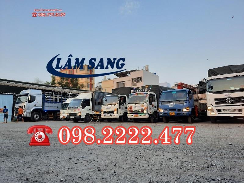 Cho thuê xe tải chở hàng giá rẻ - uy tín tại tphcm