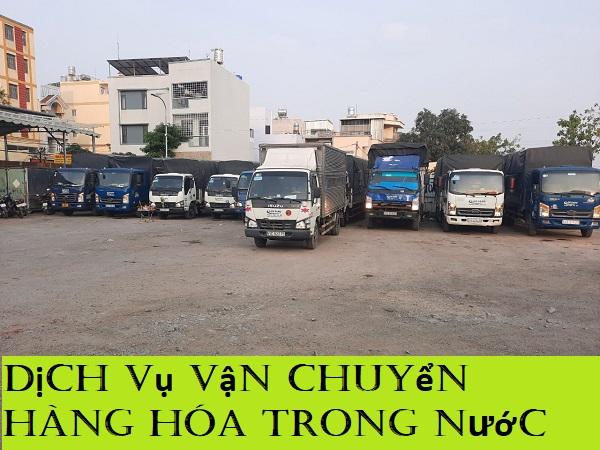 Dịch vụ vận chuyển hàng hóa trong nước