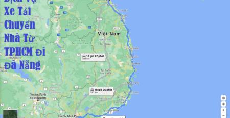 Dịch Vụ Xe Tải Chuyển Nhà Từ TPHCM Đi Đà Nẵng