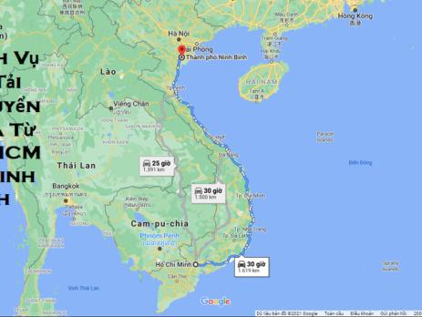 Dịch Vụ Xe Tải Chuyển Nhà Từ TPHCM Đi Ninh Bình