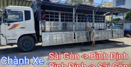 Chành Xe Sài Gòn - Bình Định Và Ngược Lại