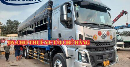 Nhận chở hàng bằng xe tải 15 tấn