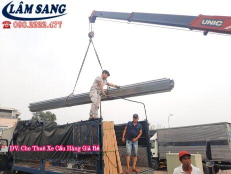 Dịch Vụ Cho thuê xe cẩu hàng TPHCM