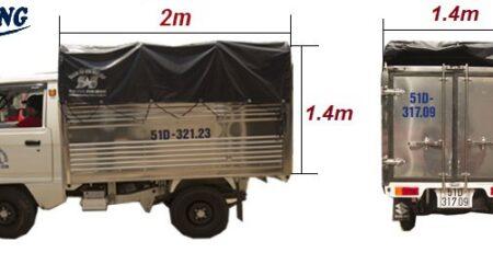 Xe Tải Chở Hàng 500kg giá rẻ tại TPHCM