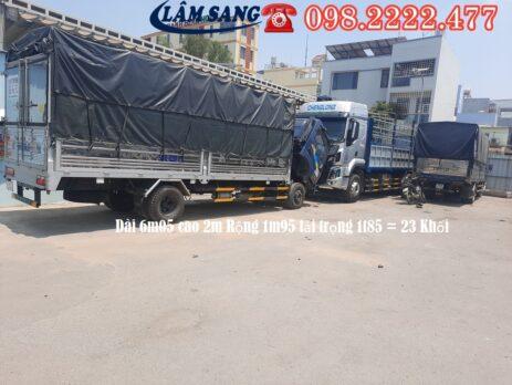Xe tải chở hàng 6m