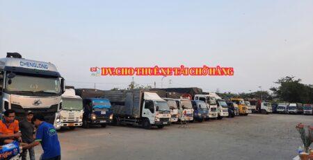 Xe tải chở hàng kcn Long Thành