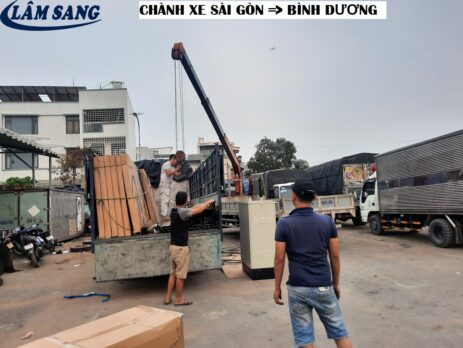 Chành xe chuyên xetải chở hàng Từ TPHCM đi Bình Dương